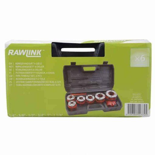 Toru keermelõikurite kpl. 6 osa, Rawlink