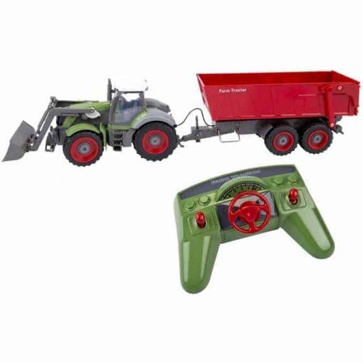 Kaugjuhitav traktor haagisega