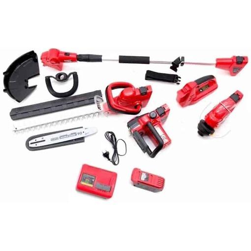 Kettsaag, trimmer, hekilõikur - multifunktsionaalne tööriist, Timco