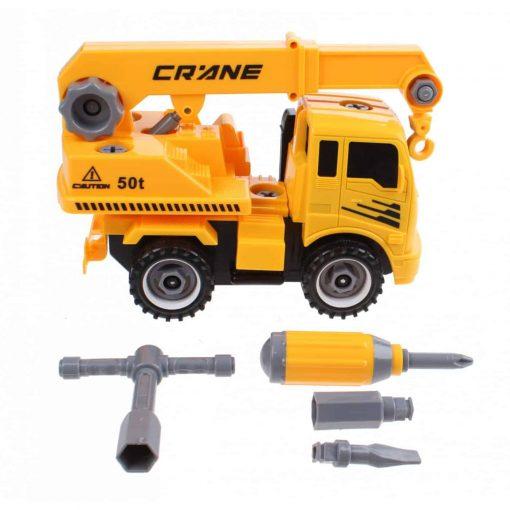Laste kraanaauto 20 cm, Gearbox