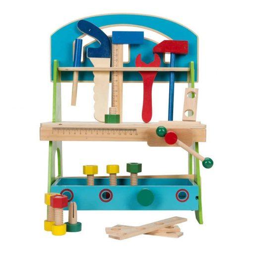Laste puidust tööriistapink