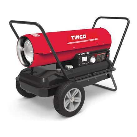 Soojapuhur diislitoitega 32 kW Timco