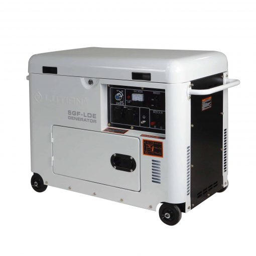 Diiselgeneraator 4,8 kW Lutian, valge