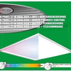 RGB LED-paneel 60 x 60 cm
