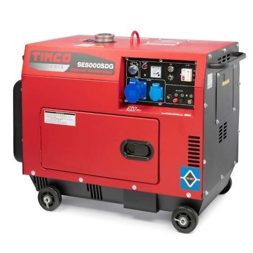 Generaator 4200W / 400V + 230V + 12V Timco TSE5000SDG