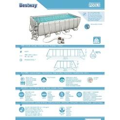 Bassein 549x274x122 cm Bestway Power Steel